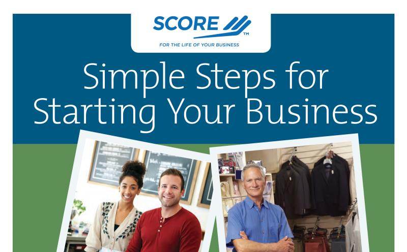 SCORE: Simple Steps to Starting Your Business (Series)